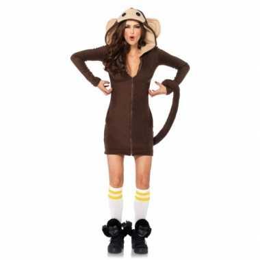 Apen verkleed carnavalskledingje dames goedkoop