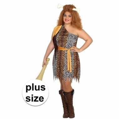 Big size grotbewoner verkleedcarnavalskleding dames