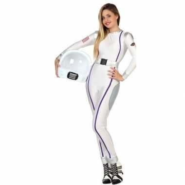 Carnaval feest astronauten verkleed carnavalskleding dames