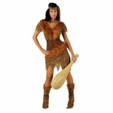 Carnaval/feest holbewoonster ayla oertijd verkleedcarnavalskleding d