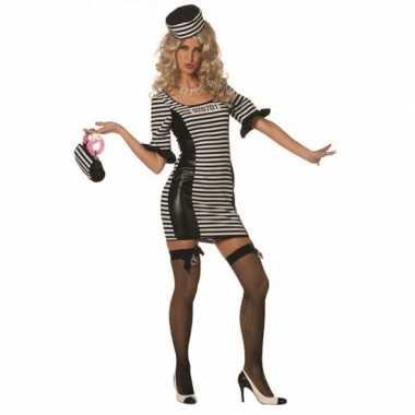 Carnavalskleding boeven jurkje hoed dames goedkoop
