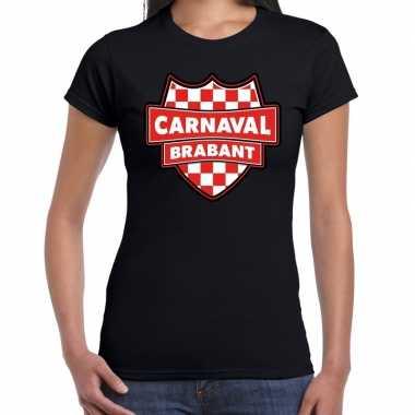 Carnavalskleding carnaval verkleed t shirt brabant zwart voor dames g