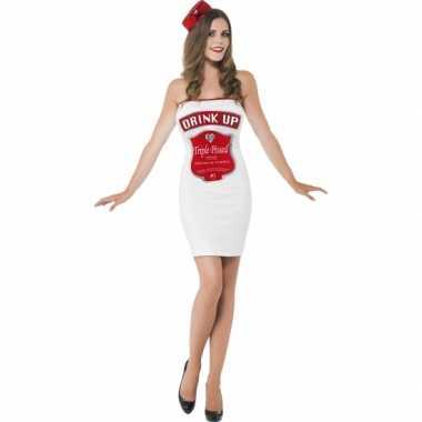 Carnavalskleding dames drink up jurkje goedkoop