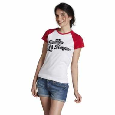 Carnavalskleding fun batman slechterik shirt dames harley goedkoop