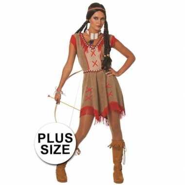 Carnavalskleding Dames Indiaan.Carnavalskleding Grote Maten Sexy Indianen Damesjurk Goedkoop