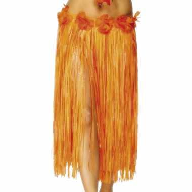 Carnavalskleding hoela rokje bloemetjes dames