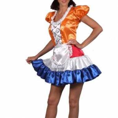 Carnavalskleding kaasmeisje jurk holland dames