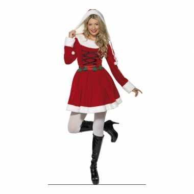 Carnavalskleding  Kerstjurk lange mouwen dames goedkoop