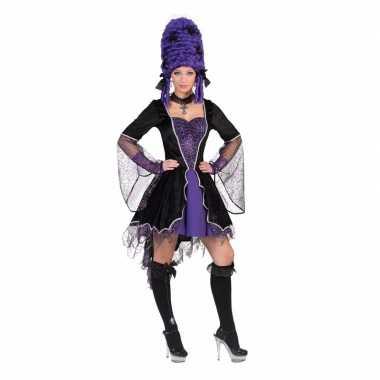 Carnavalskleding korte vampieren jurk dames