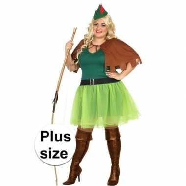 Carnavalskleding robin hood carnavalskleding xxl dames