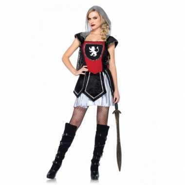 Carnavalskleding sexy ridder jurkje dames goedkoop