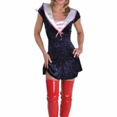 Carnavalskleding sexy sailor jurkjes vrouwen dames goedkoop