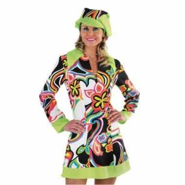 Carnavalskleding sixties jurkje dames goedkoop