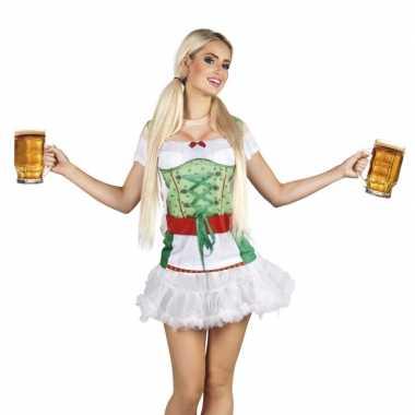 Carnavalskleding tiroler heidi oktoberfest damesshirt goedkoop