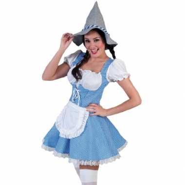 Carnavalskleding tiroler jurkje dames goedkoop