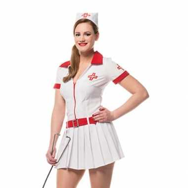 Carnavalskleding verpleegster carnavalskledingje dames goedkoop