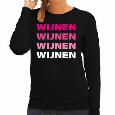 Carnavalskleding wijnen wijnen wijnen wijnen sweater zwart dames goed