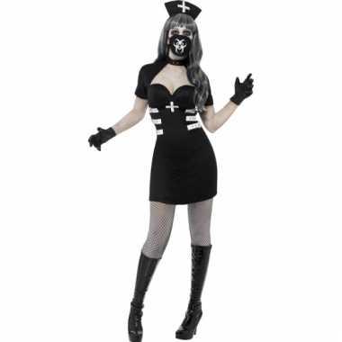 Carnavalskleding zombie verpleegster jurkje dames goedkoop