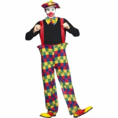Clowns carnavalskleding volwassenen dames goedkoop