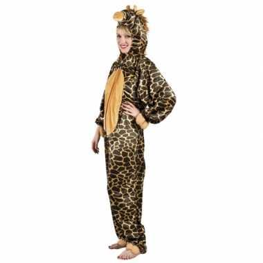 Huiscarnavalskleding giraffe dames