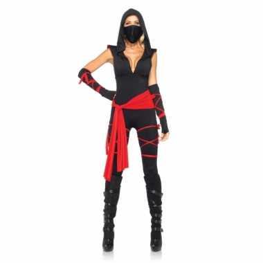 Ninja dames carnavalskleding goedkoop