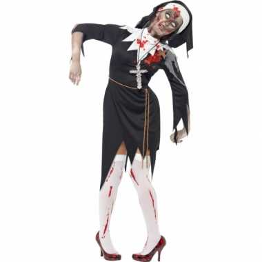 Nonnen carnavalskleding bebloed dames goedkoop