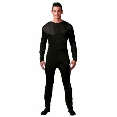 Ondercarnavalskleding verkleed suit zwart mannen dames goedkoop