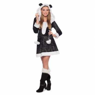 Panda dieren carnavalskleding dames goedkoop