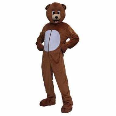 Pluche beren carnavalskleding volwassenen dames goedkoop