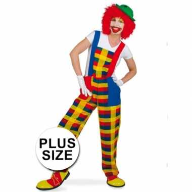 Carnavalskleding Dames Clown.Plus Size Clown Pebbi Carnavalscarnavalskleding Dames Goedkoop