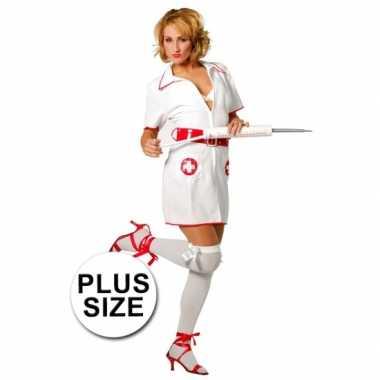 Plus size verpleegster carnavalskleding dames goedkoop