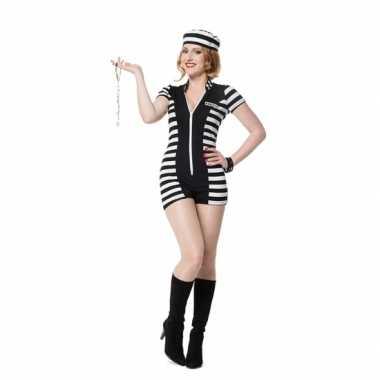 Sexy boeven carnavalskleding dames goedkoop