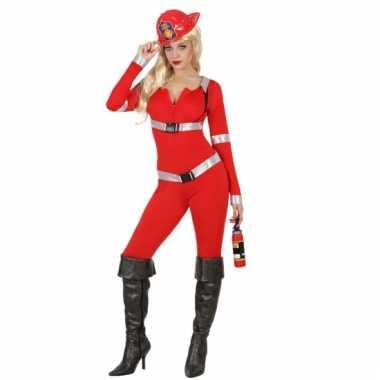 Sexy brandweer carnavalskledingje dames goedkoop