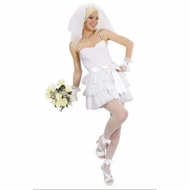 Sexy bruidsjurk carnavalskleding dames goedkoop
