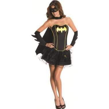 Superheld batgirl carnavalskleding dames goedkoop
