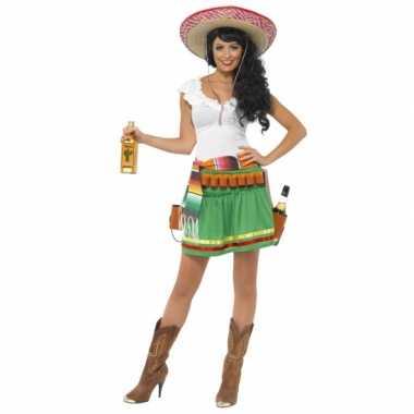 Tequila carnavalskleding dames goedkoop