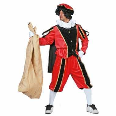 Zwarte Piet carnavalskleding rood zwart dames goedkoop