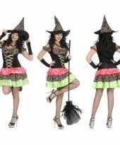 Carnavalskleding gekleurde oktoberfest jurk dames